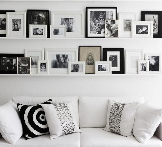 Como colgar cuadros - Cuadros con fotos familiares ...